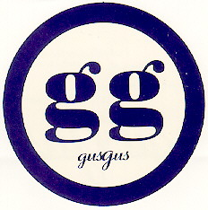Round Gus Gus sticker